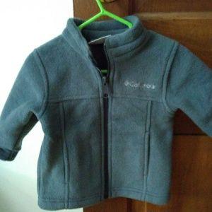 Columbia grey baby fleece 6-12 month NEW